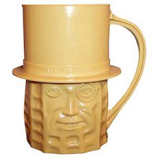 Planters Nuts Vintage Peanut Colored Mr. Peanut Mug