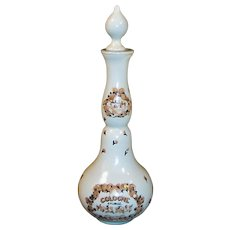 Vintage 1940's Charles of the Ritz Moss Rose Perfume Bottle