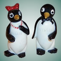 Millie & Willie  Penguin Salt & Pepper Shakers