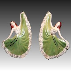 Delicate Dancing Ladies Figurines