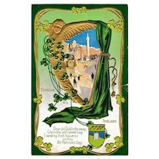 C. 1912 Antique St. Patrick's Day Dublin Postcard