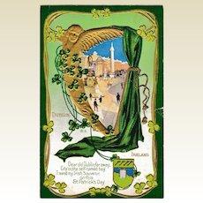 C. 1912 Antique St. Patrick's Day Dublin Postcard