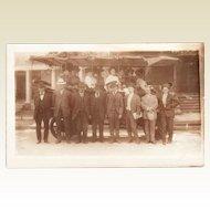 Antique Real Photo Postcard Touring Car Denver Colorado