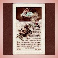 Rotary Photographic Series Christmas Postcard