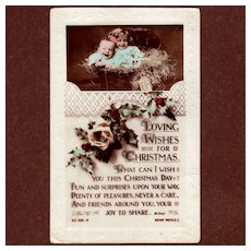 Rotary Photographic Series Christmas Postcard
