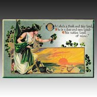 "Antique Raphael Tuck & Sons ""Erin Go Bragh"" St. Patrick's Day Postcard"