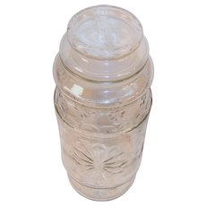 Planters Nuts Vintage Mr. Peanut Canister Jar 1980