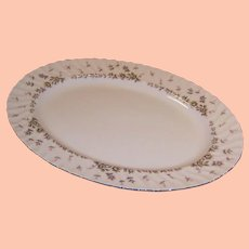 "Midcentury Style House China PICARDY  14 5/8"" Serving Platter"