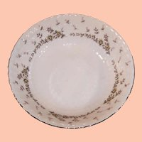 """Midcentury Style House China PICARDY  9 1/4"""" Serving Bowl"""