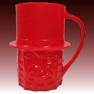 Planters Nuts Vintage Red Mr. Peanut Mug