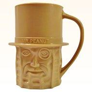 Planters Nuts Vintage Tan Mr. Peanut Mug