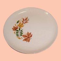 "TWO Vintage Salem China  ""Autumn Leaves"" Dinner Plates"