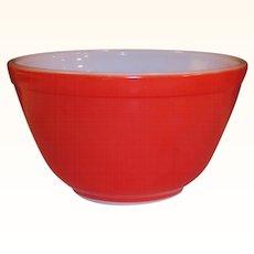 Vintage Red Pyrex Bowl  #401 (1 1/2 pt)