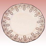 (2) Royal China 22K Gold Manhatten Dessert (Bread & Butter) Plates