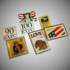 United Postal Service Pin Assortment
