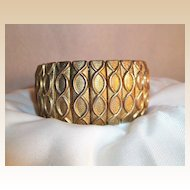 Burnished Bronze Tone Expansion Bracelet