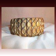Burnished Bronze Tone Expansion Bracelet