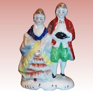 Occupied Japan Colonial Couple Figurine
