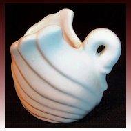 Vintage Satin Finish Swan Planter