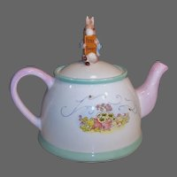 Beatrix Potter's Peter Rabbit Porcelain Tea Pot Teleflora
