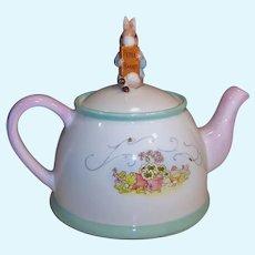 Beatrix Potter's Peter Rabbit Porcelain Tea Pot Teleflora