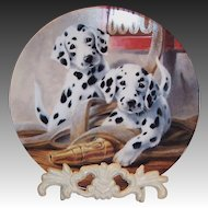 """""""We've Been Spotted"""" by Lynn Kaatz Collector's Plate"""