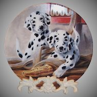 """We've Been Spotted"" by Lynn Kaatz Collector's Plate"
