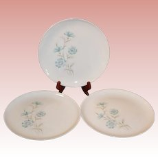 THREE Taylor Smith Taylor Boutonniere Dinner Plates