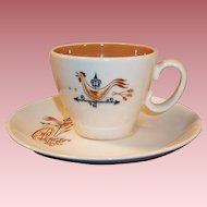 Taylor Smith Weather Vane & Rooster Cup & Saucer Set