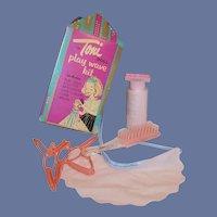 Toni Doll Play Wave Kit: Hair Curlers, Brush, Cape, Applicator Bottle....