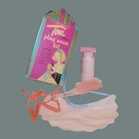 Toni Doll Play Wave Kit: Hair Curlers, Brush, Cape, Applicator Bottle....