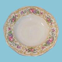 "Baronet China: ""Plaza"" Rimmed Soup Bowl 8 1/8"""