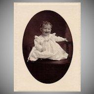 Antique Victorian Photograph: Baby Hugh