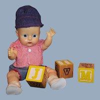 1958 Vogue Jimmy Baby Doll (No Eyelash!) Checked Shirt, Denim Heart Shorts, Cap and more...