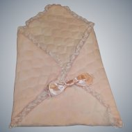 Vogue 1950's Ginnette Doll Quilted Travel Blanket