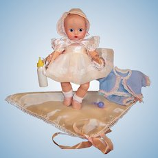 1950'S VOGUE Ginnette Baby Doll  TWO Tagged Outfits,  Shoes, Socks, ID Bracelet, and more...