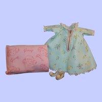 Vogue Ginny Talon Zipper Series Robe, Slippers, Pillow, Pillow Case