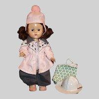 Vogue Ginny SLW Doll: Winter & Summer Fun Times; Ski Suit & Beach Apparel