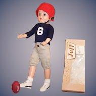 Vogue Jeff Doll Football Uniform & Gear