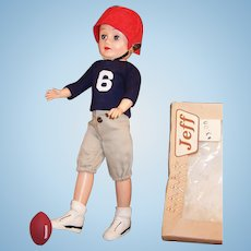 Vogue Jeff Doll Football Uniform & Gear