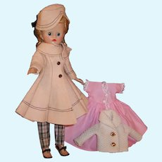 1957 Blonde Pony Tail VOGUE Jill Doll & Multiple Outfits