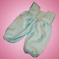 1958 Vogue Aqua Snowsuit Pants for Ginnette (# 2151)