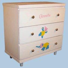 Vogue Ginnette Dresser / Chest of Drawers