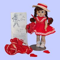 Vogue Ginny: Red Party Dress, Sailor Outfit & Hat, Shoes, Socks & more...