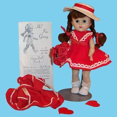 Happy Valentine's Day!  Vogue Ginny: Red Party Dress, Sailor Outfit & Hat, Shoes, Socks & more