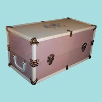 "Large 18"" Metal Vogue Doll Case Trunk (Made for 16"" Ginny Baby)"