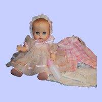 1950'S VOGUE Ginnette Baby Doll, Working Squeaker, Dress, Bonnet, Overalls, Sleeper, Shoes, Socks & more...