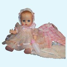 1950'S VOGUE Ginnette Baby Doll, Working Squeaker, Dress, Bonnet, Overalls, Kimono Sleeper, Shoes, Socks & more...