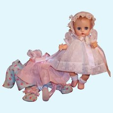 1950'S VOGUE Ginnette Baby Doll: 2 Party Dresses, Bonnet, Pajamas, and more...