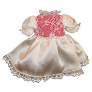 Vintage Vogue Dakin  Ginny Satin & Lace  Dress